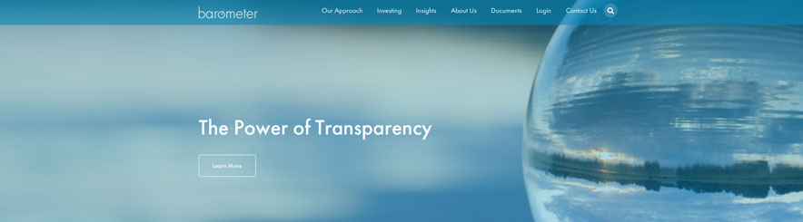 The New Barometer Capital website is now live at BarometerCapital.ca