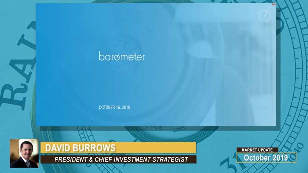 David Burrows Barometer Readings (16-Minute Video) | October 16, 2019