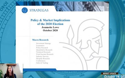 WEEKLY MARKET UPDATE (VIDEO) – SPECIAL GUEST JEANNETTE LOWE FROM STRATEGAS DISCUSSES THE ELECTION AND THE IMPACTS WE MAY SEE ON FINCIAL MARKETS