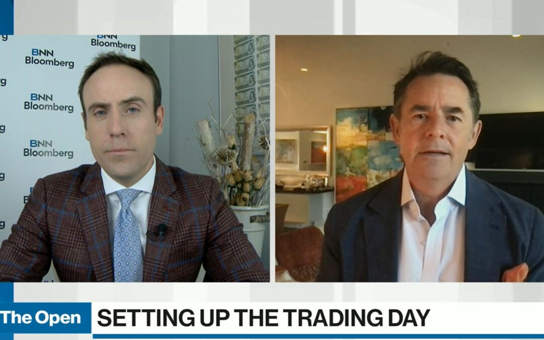 BNN's The Open with David Burrows. David Discusses How the Canadian Stock Market Could Outperform U.S. Over the Next Year