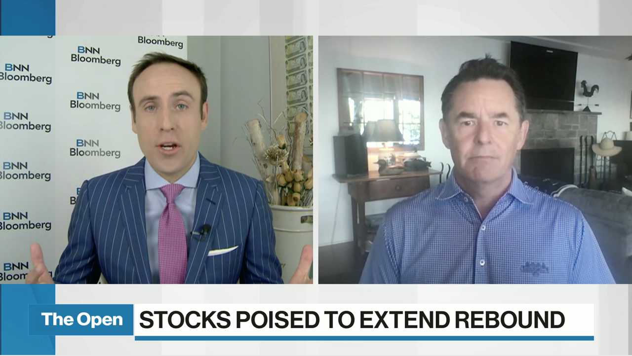 David Burrows on BNN Bloomberg's The Open with Jon Erlichman Discussing the Latest Market Trends – Noting Rolling Corrections are Normal in Year Two of a Bull Market.