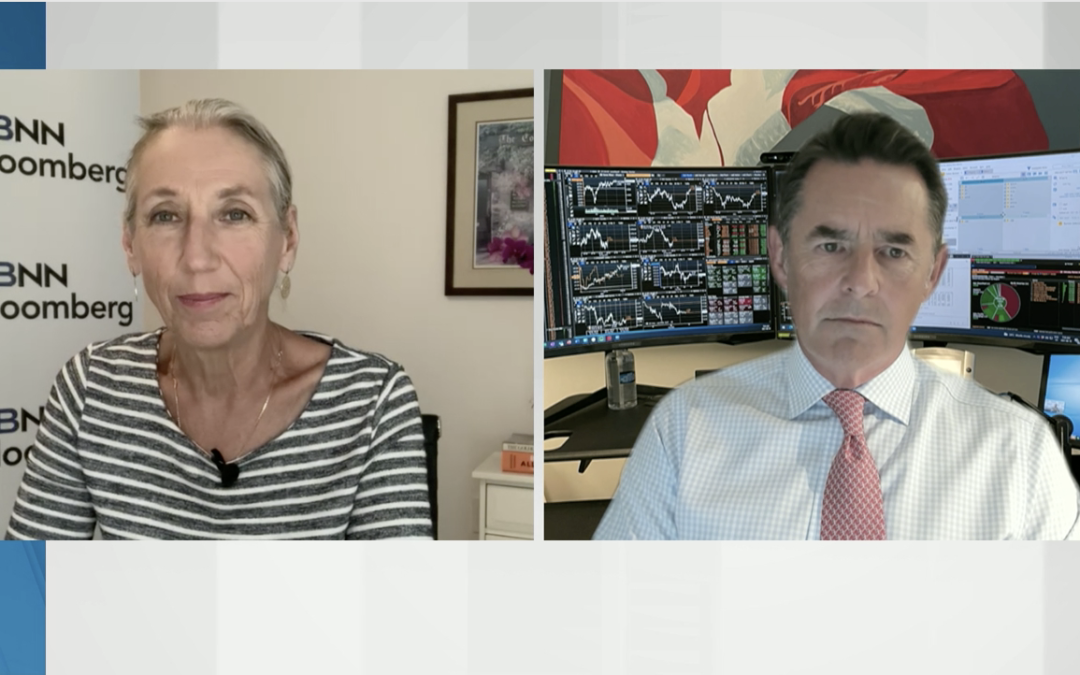 David Burrows on BNN Bloomberg's The Open Discussing Economically Sensitive Themes, Complimented by a Somewhat Reduced Exposure in Secular Growth Names