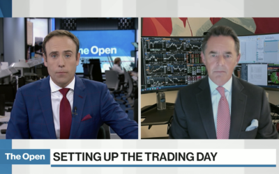 David Burrows on BNN Bloomberg's The Open Discussing How Offensive or Cyclical Sectors Outperforming Defensives Doesn't Line Up with the Cautious Market Narrative